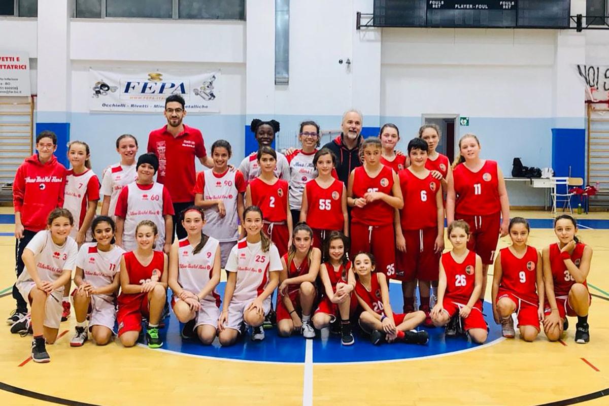 Milano Basket Stars Gazzelle Minibasket