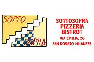 Milano Basket Stars Sponsor Pizzeria Sotto Sopra
