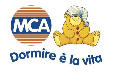 MCA materassi MBS sponsor logo